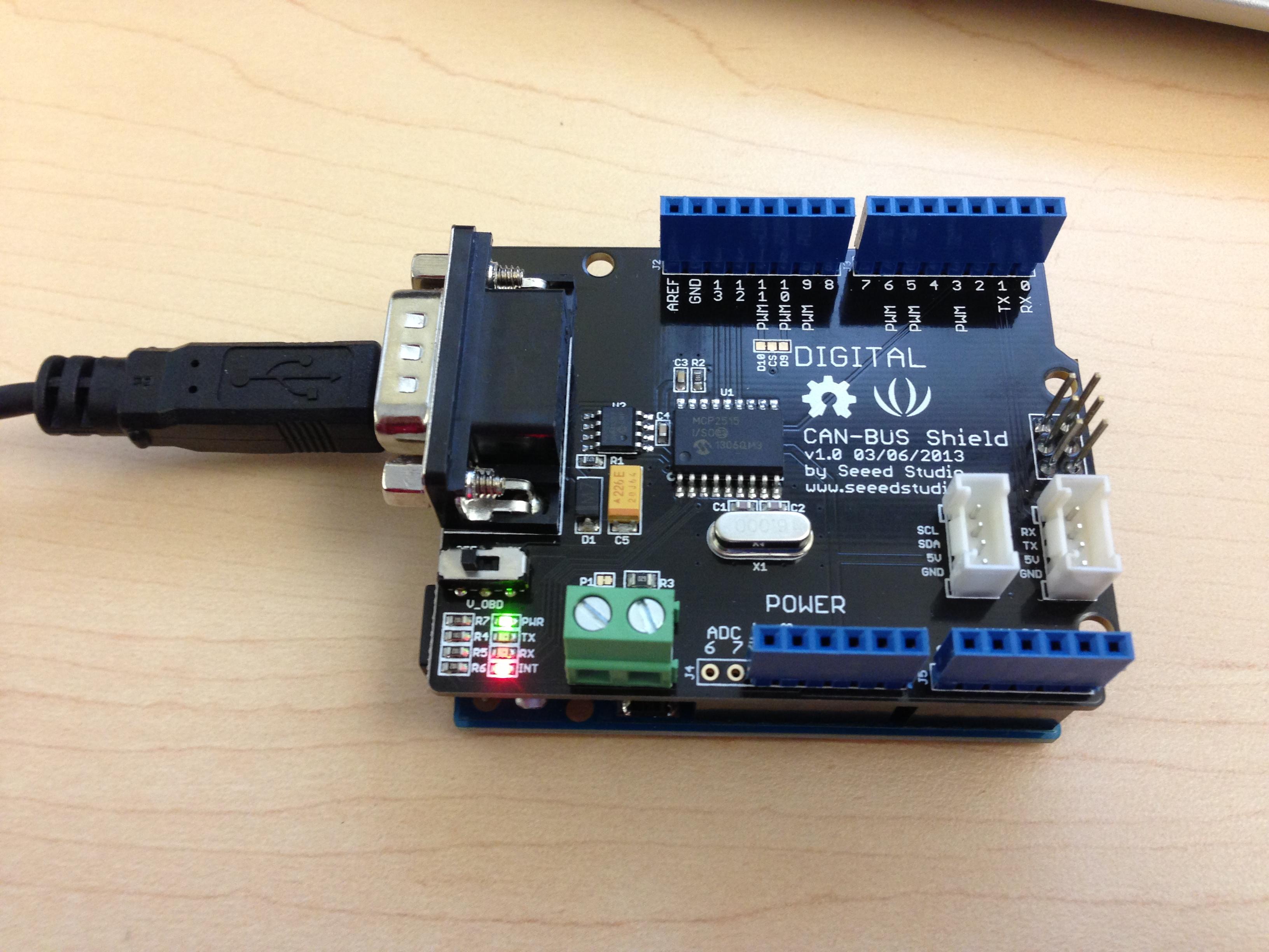 Arduino can своими руками 7